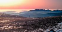 Sunset from Helvellyn