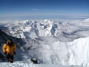 View from the South Summit of Everest