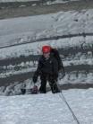 Nearing summit of Chapayev