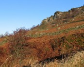 Curbar on a Bright Winter's Day