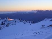 Dawn high on North Ridge, Mt. Baker, Washington, USA
