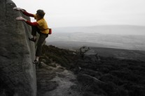 A cold but sticky Thorn Crag