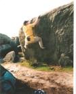 Bouldering at Burbage