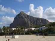 Monte Monaco from the beach. San Vito lo Capo