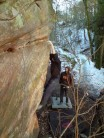 Mauchline winter adventure new climb