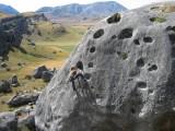 Bouldering_Castle Hill_New Zealand<br>© Dr Soft