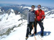 On top of the Aletschhorn