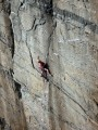 Sugar Cane Country, Pabbay, Hebrides. The best single pitch E4 in scotland?<br>© neil the weak