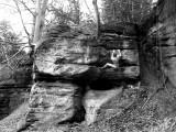 brixton climber in south sandstone<br>© brixton climber