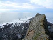 Sorting out the ab at Gull Rock, Culm Coast, North Devon