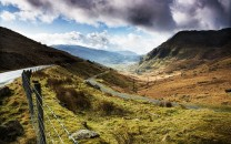 Somewhere along the road between Llanberis pass and Tremadog