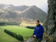 Julia at Glen Clova