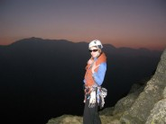 Claire On Top Of Gimmer Last Light