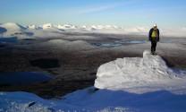 Top of Menage a Trois - Rannoch Moor behind