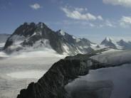 South from Vignettes Hut (Mont Collon)