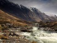 The river near The Clachaig Inn