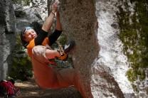 v6 at the ahwanee boulders