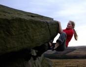 Evening bouldering