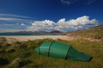 Who needs a 5* hotel?! Outer Hebrides perfect wild camping