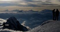 Matterhorn from Mt Blanc