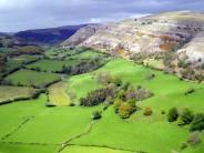 Limestone escarpment at Llangollen