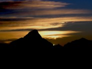 Sunset in the alps 1