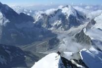 S Ridge of Dent Blanche