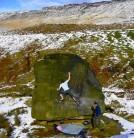 winter days bouldering