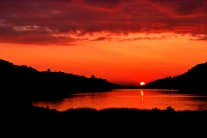 Sunset over Llanberis