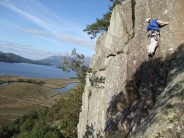 Will on the last pitch of Donkey's Ears.