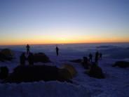 Tete Rousse Camp Sunset