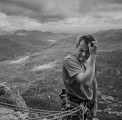 Whatever you do, don't let the midges get to you.  East Face Tryfan.<br>© ChrisJD