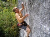 The 'Clamp' about to clamp in the Gorge du Tarn.{Alan Steele of course!]<br>© robmatheson