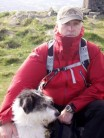 Me and Sam on Slieve Muck (Mournes)