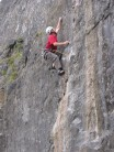 Dave Musgrove repeats 'Winking Crack' Foredale Quarry