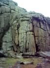 Slanting and Omega cracks, Sheeps Tor