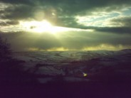 Sunset from Stanage