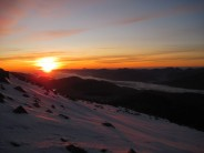 Sunset from Ben Nevis