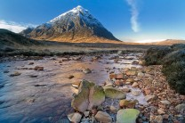 The River Coupall and Buachaille Etive Mor