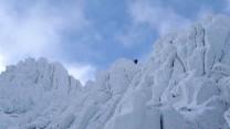 Approaching Tryfan summit