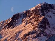 Moonrise over Sron na Lairig