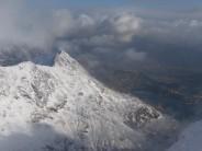 From summit ridge Snowdon