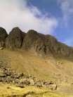 Dow Crag on a suprising October day