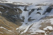 Cross Fell another avalanche<br>© iscicles