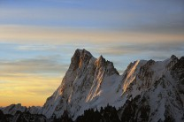 Grandes Jorasses Sunrise