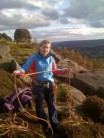 1st outdoor climb