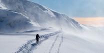 Alpine feel to Aonach Beag