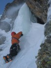 First pitch of Misere, Alpe d'Huez.