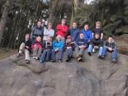 Club Members at the Peak District