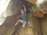 Starting Cave Crack